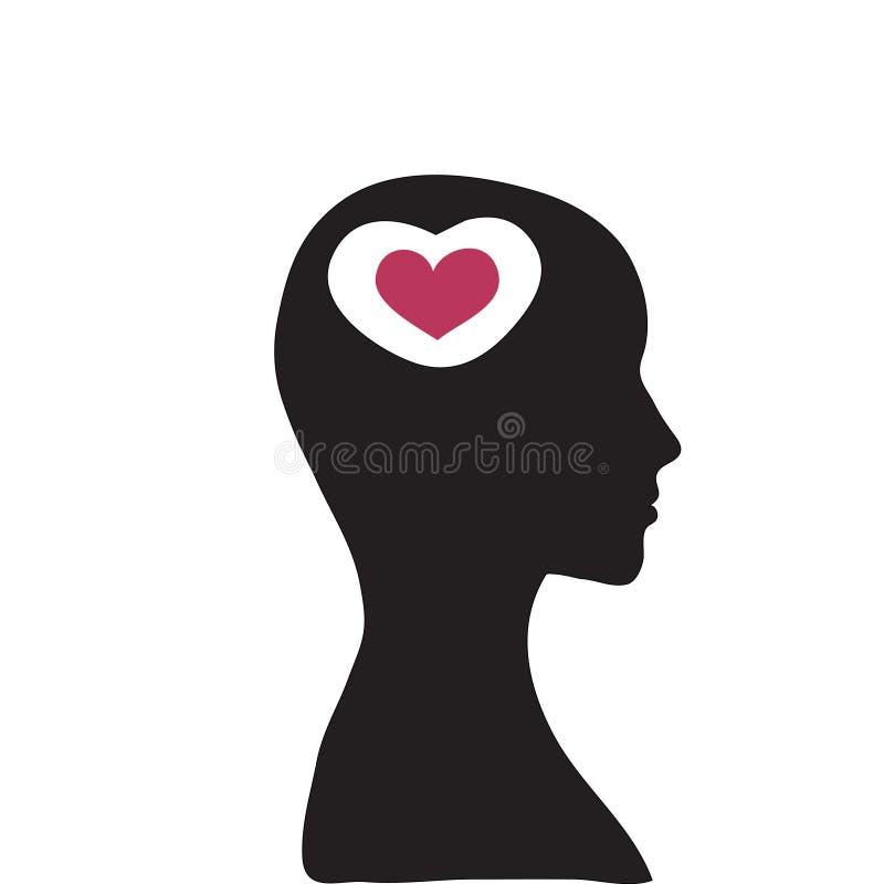 Concept liefde royalty-vrije illustratie