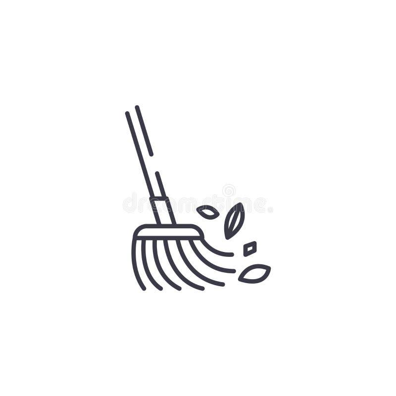Concept linéaire rapide d'icône de plancher Parquetez la ligne rapide signe de vecteur, symbole, illustration illustration stock