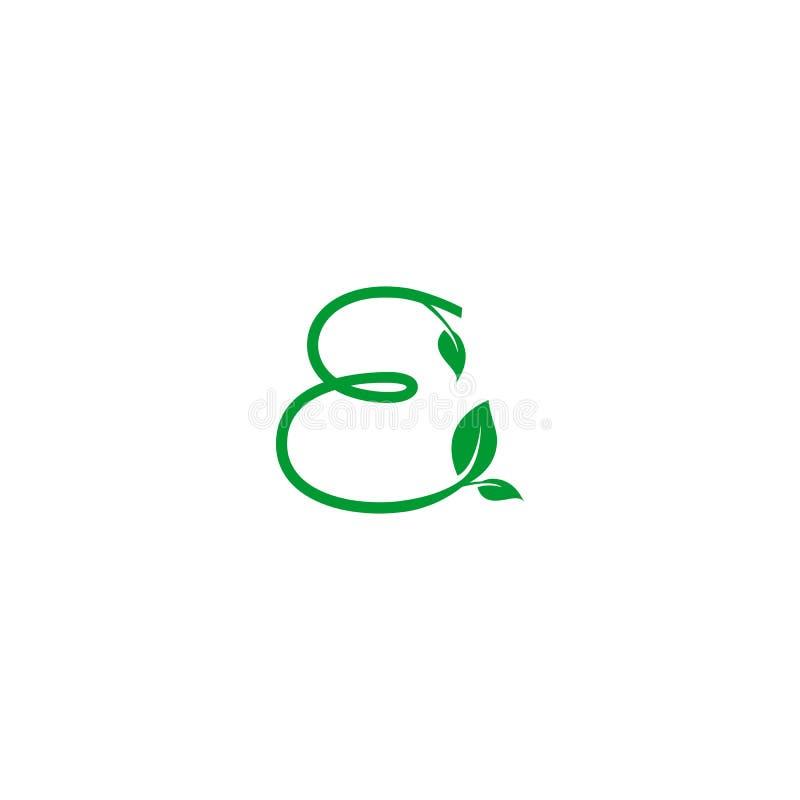 Concept Logo Leaf Letter Stock Illustration Illustration Of Fresh
