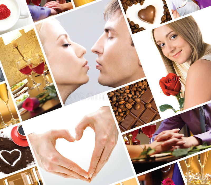 Concept of love stock images