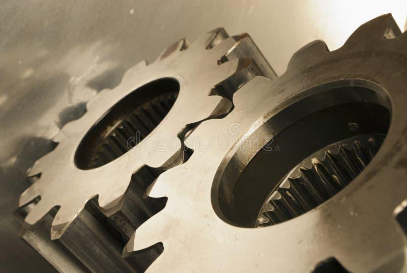Concept mécanique dans la tonalité de sépia images libres de droits