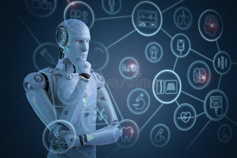 Concept médical de technologie illustration libre de droits