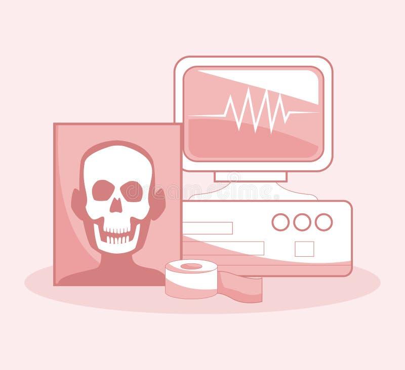 Concept médical et de santé illustration de vecteur