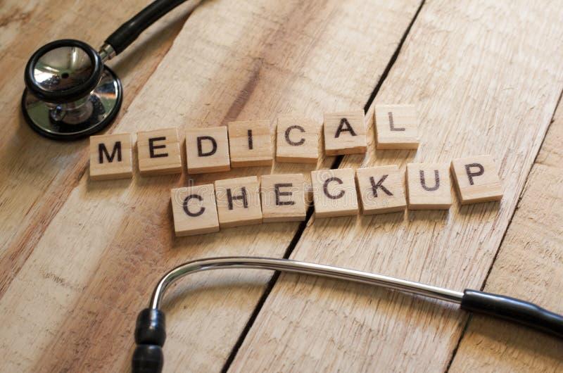 Concept médical et de soins de santé, contrôle médical  photos stock