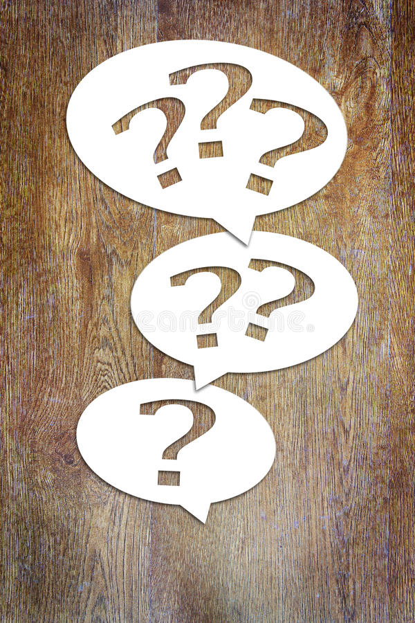 Concept of many questions and problems. Conceptual image royalty free stock image