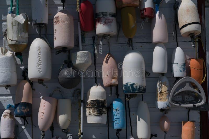 Concept marin de fond de balises photographie stock libre de droits