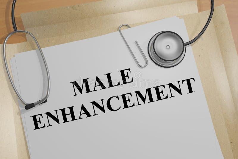 Concept masculin d'amélioration illustration stock