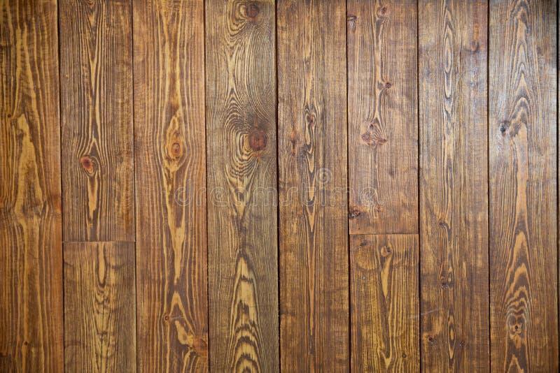 Concept mat?riel en bois de texture de papier peint de fond Vieux conseil brun dans des couleurs chaudes Vieux dessus en bois fon image libre de droits