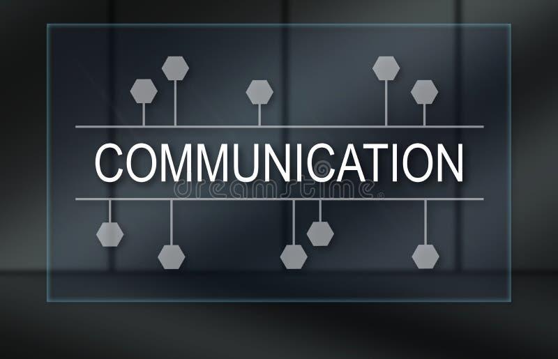 Concept mededeling royalty-vrije stock afbeeldingen