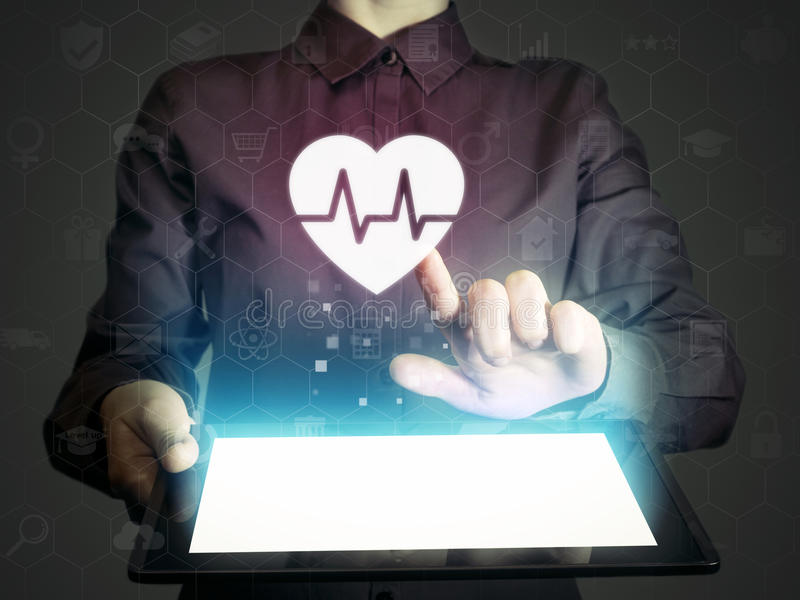 Concept of medical services, diagnosis and treatment. stock photos