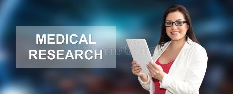 Concept medisch onderzoek royalty-vrije stock fotografie
