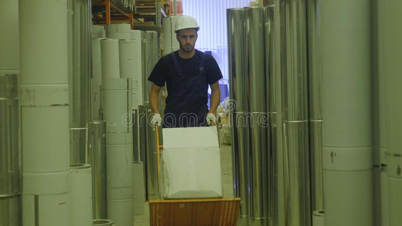 Concept men shopping. Construction hypermarket is Paradise for artisans men. A man works in a construction store. Concept man shopping. Construction hypermarket royalty free stock photos