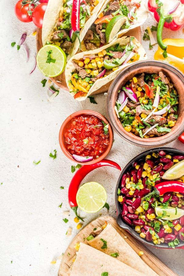 Concept mexicain de nourriture Nourriture de Cinco de Mayo photo libre de droits