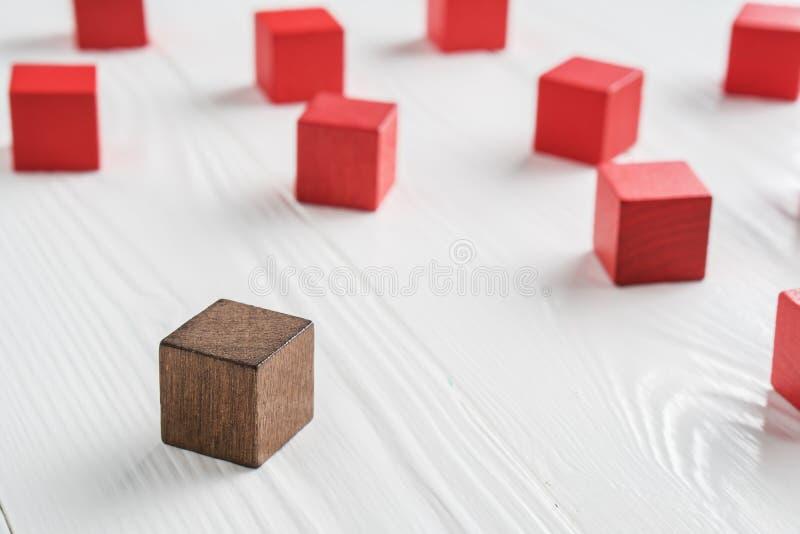 The concept of misunderstanding stock image