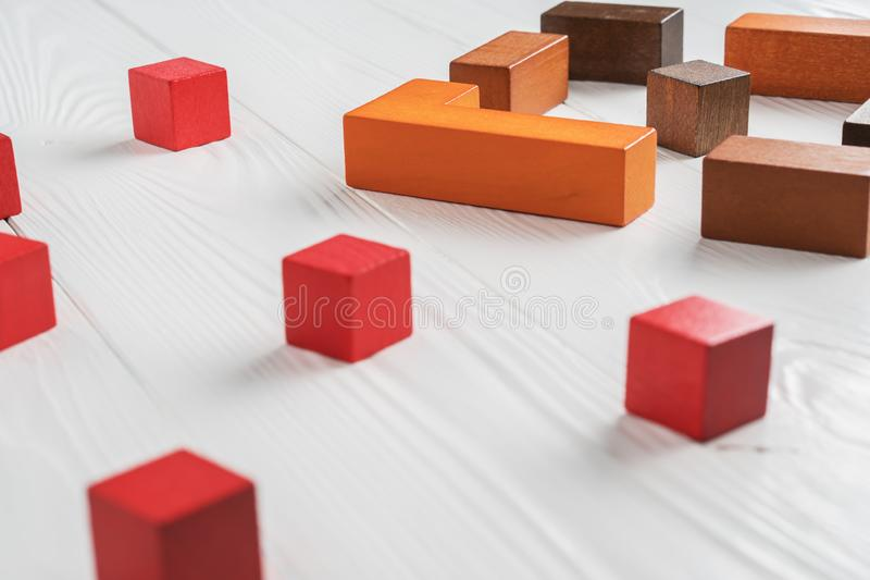 The concept of misunderstanding royalty free stock images
