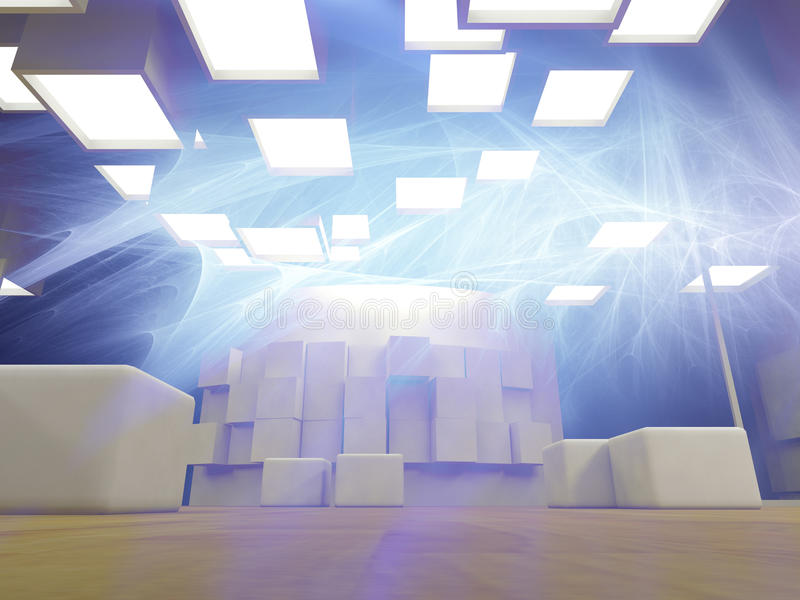 Download Concept Of Modern Hospital, Abstract Stock Illustration - Image: 20877371