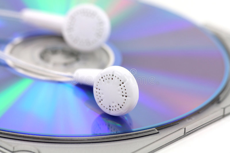Concept of mp3 music stock photo