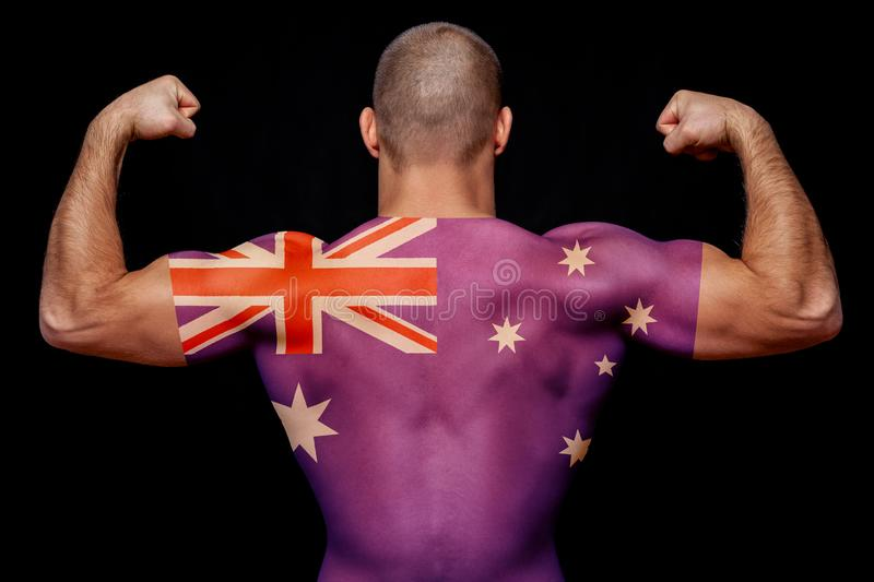 The concept of national pride and patriotism stock images