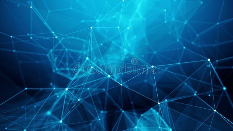 Concept Netwerk, Internet-mededeling royalty-vrije illustratie