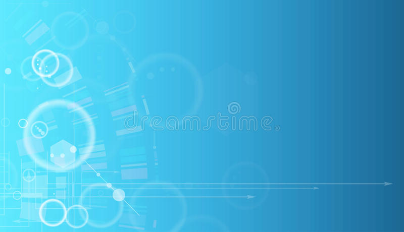Concept for New Technology Corporate Business & development. Background stock illustration