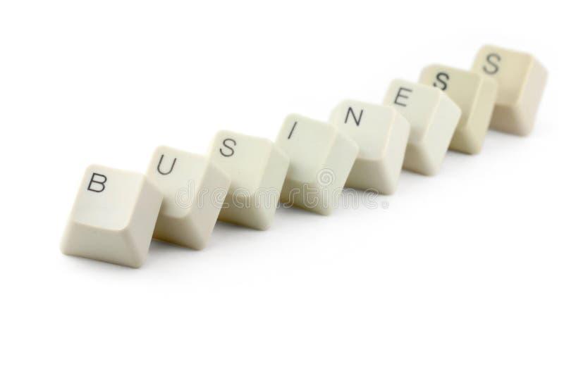 Concept online zaken stock foto