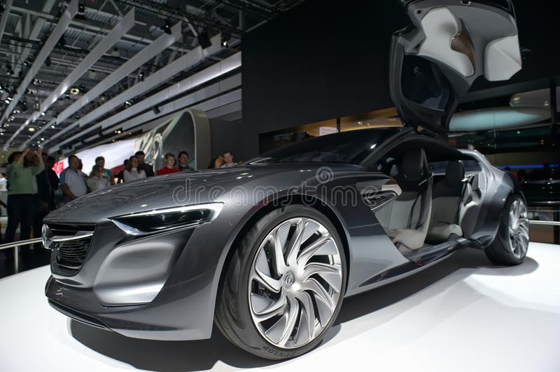Concept Opel Monza stock photo
