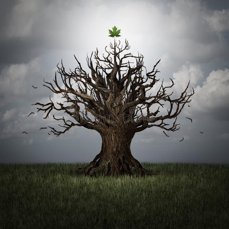 Concept Optimisme royalty-vrije illustratie