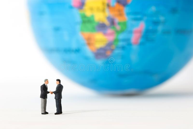 Concept of partnership. Business successful royalty free stock photo