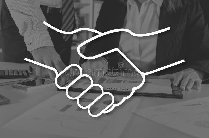 Concept of partnership royalty free stock photo