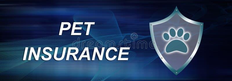 Concept of pet insurance stock photos