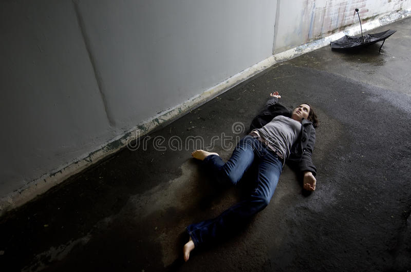Concept Photo - Murder royalty free stock photo