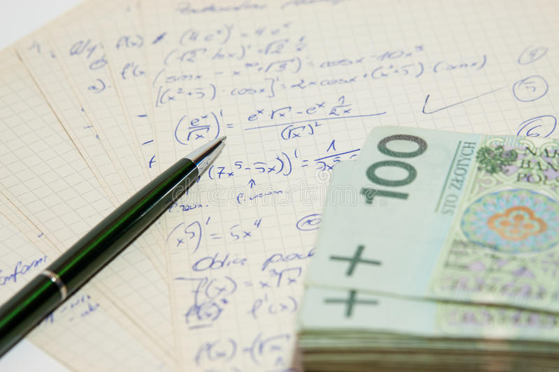 Download The Concept Of Polish Money Stock Photo - Image: 36386516