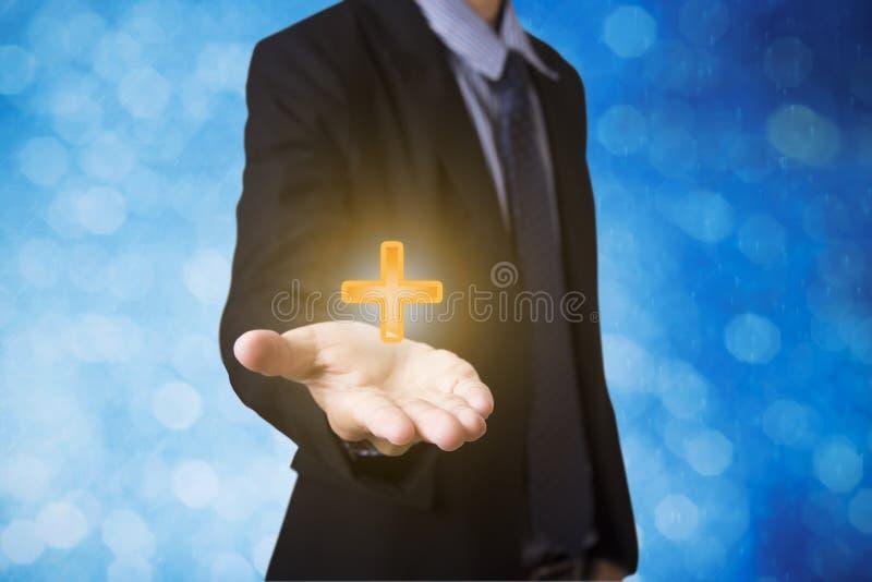 Concept positif d'offre d'affaires comme le bénéfice, avantages, personnels images libres de droits