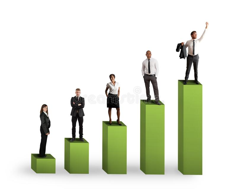 Download Teamwork statistics stock photo. Image of chart, investment - 29938002