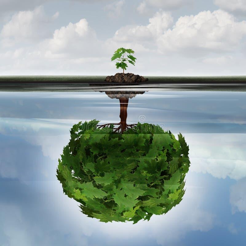 Concept potentiel de succès illustration libre de droits