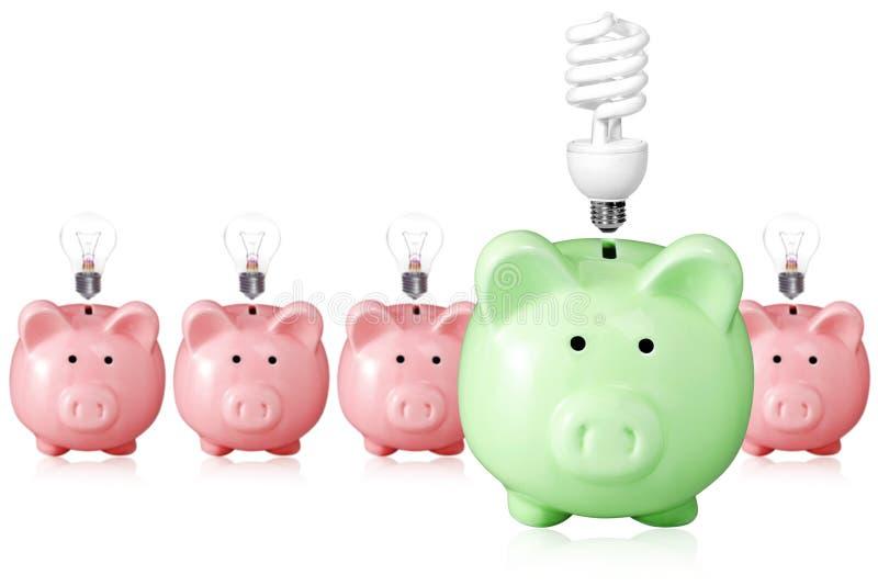 Concept pour l'économie d'énergie. photographie stock