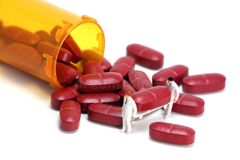 Concept: Prescription drugs royalty free stock images