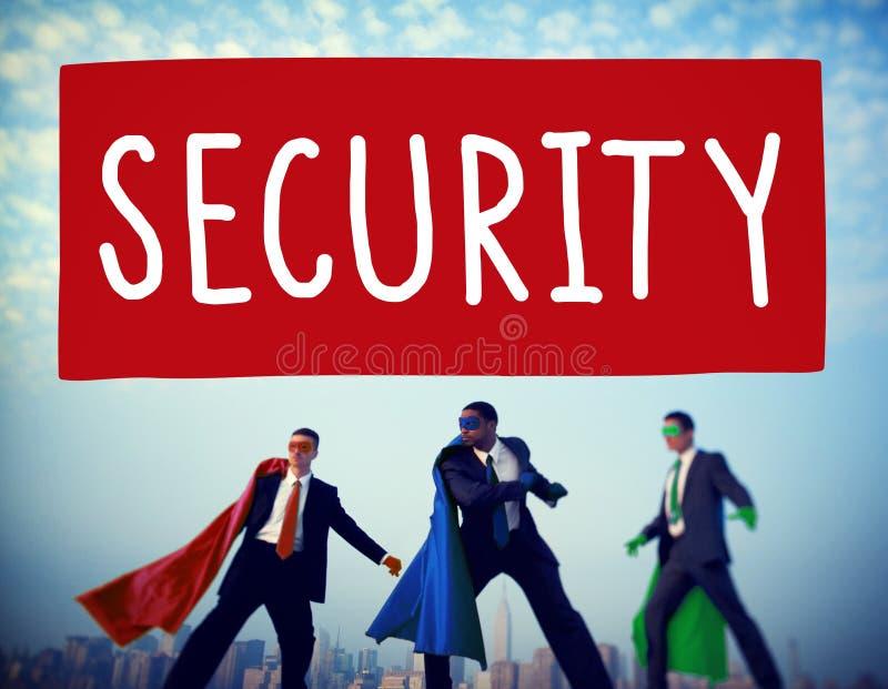 Concept privé de politique de protection des données de sécurité images libres de droits