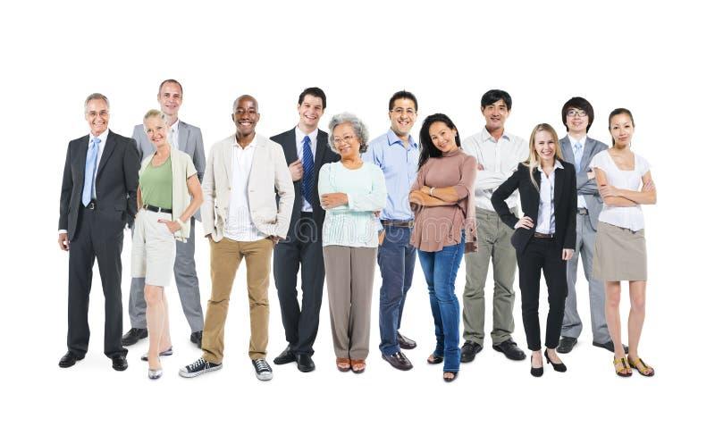 Concept professionnel divers multi-ethnique de la Communauté de personnes photos stock