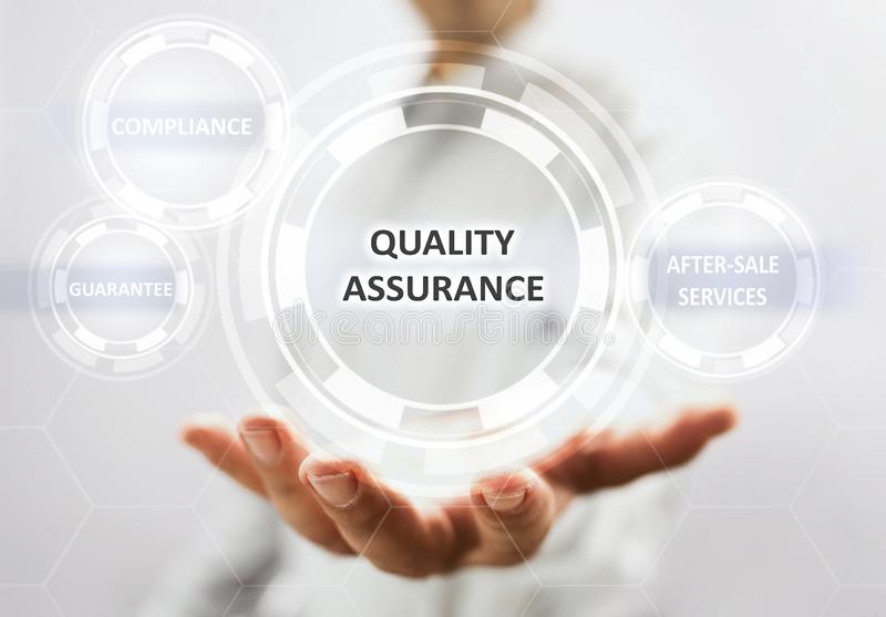 Concept For Quality Assurance royalty free stock image