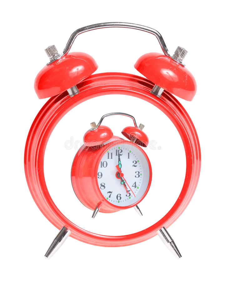 Download Concept Red Alarm Clock Stock Image - Image: 15856321