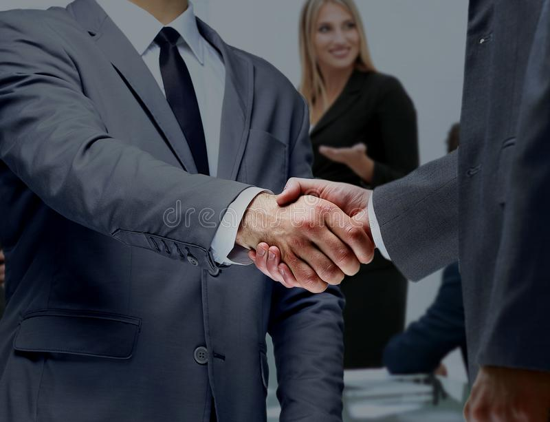 Concept of reliability partnership and cooperation. business stock images
