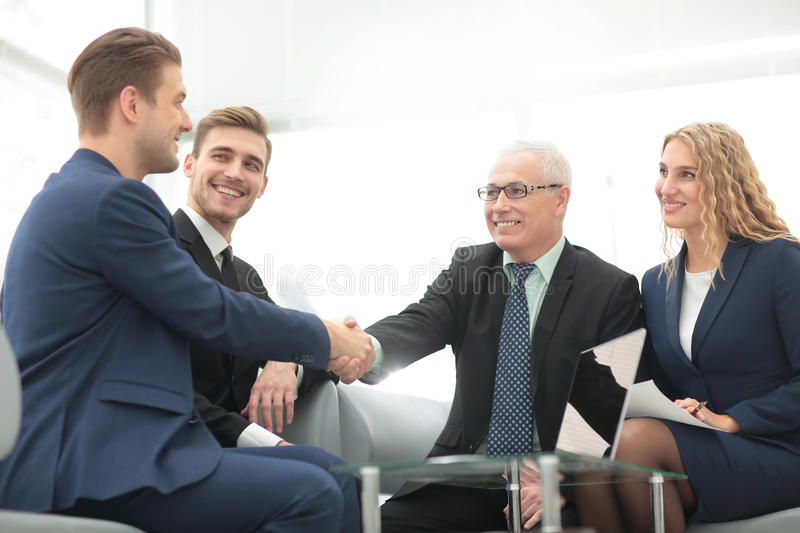 Concept of reliability of partnership and cooperation. business stock images