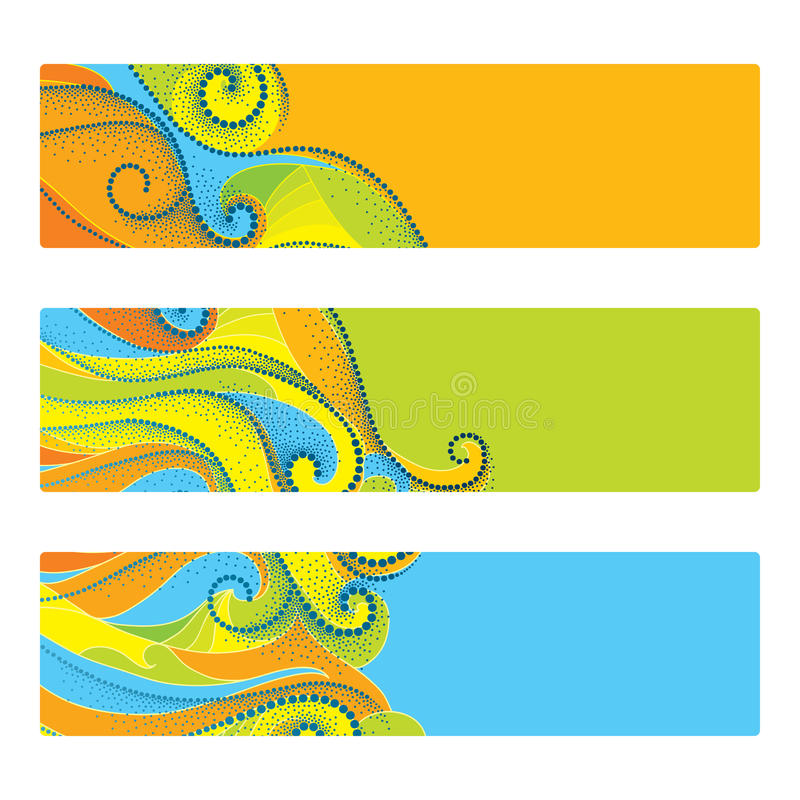 Concept for Rio 2016, Brazil, in colors of Rio Olympic games. Summer elements in dotwork style. Banner, template, poster for web vector illustration