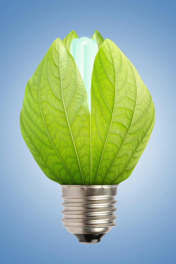 Concept of saving energy royalty free stock images