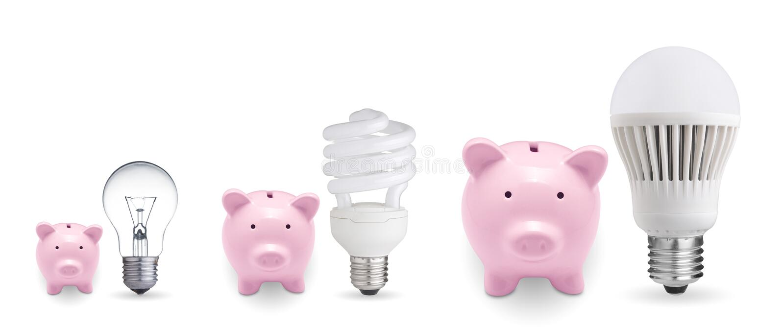 Concept for saving money stock images