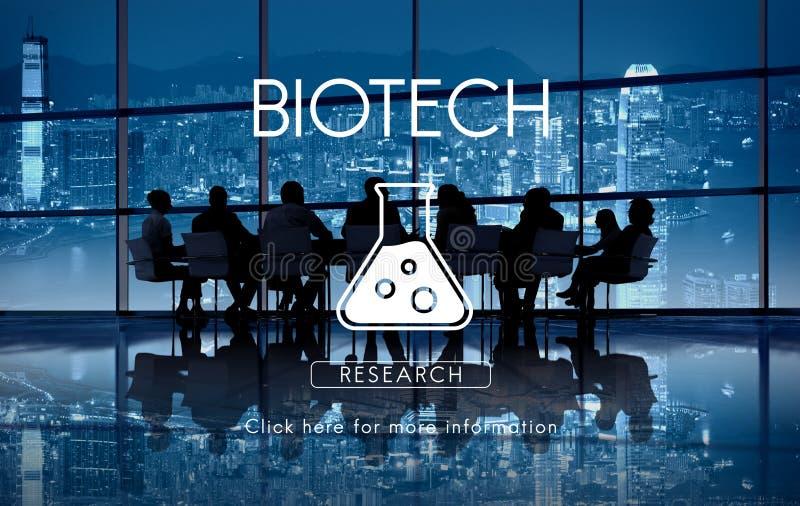 Concept scientifique d'ingénierie de la génétique de biochimie photographie stock libre de droits