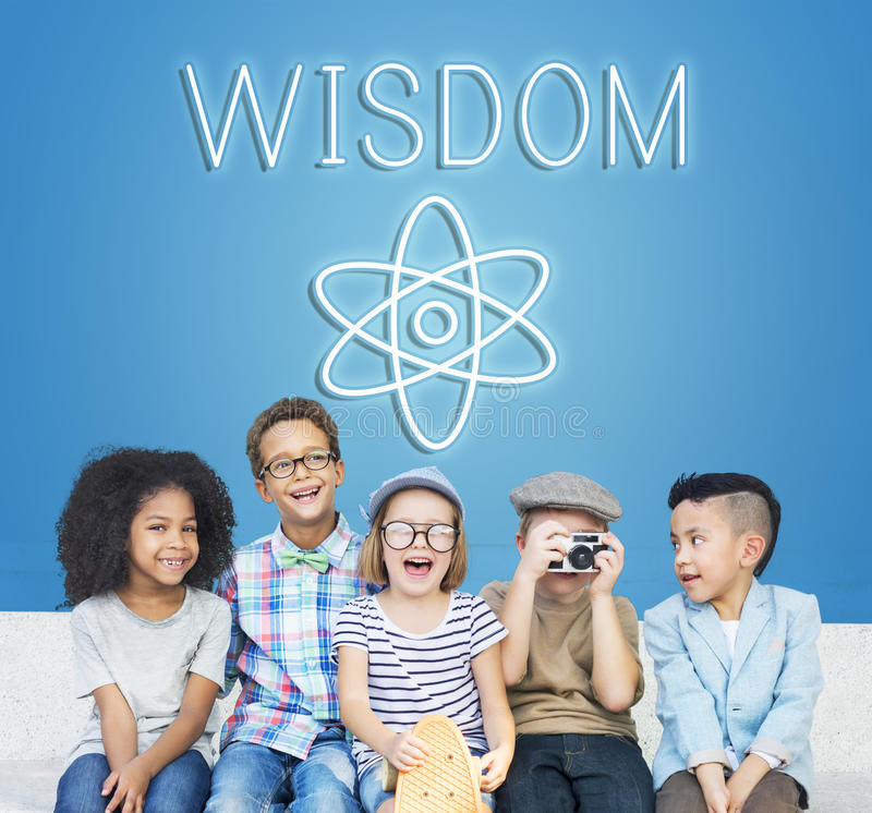Concept scolaire d'école de classe de la connaissance images stock