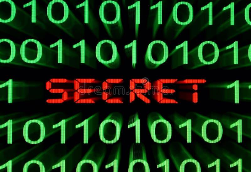 Concept secret illustration libre de droits