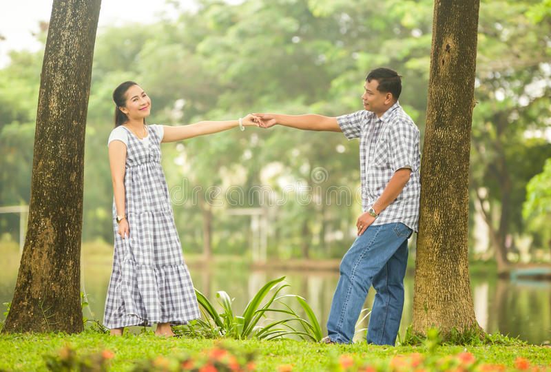 Download Concept Shot  Of Asian Young Couple In Love . Stock Photo - Image: 35500392